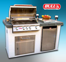 Patio Grills, Kitchens, Firepits & Fireplaces
