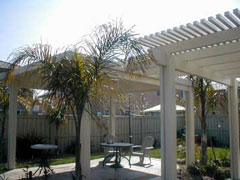 Alumawood Patio Cover - Lattice & Solid